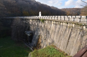 Sultan Mahmut Dam in the Belgrade Forest